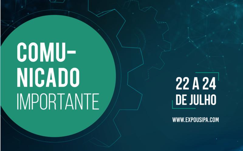 Expo Usipa emite comunicado importante sobre a realização do evento